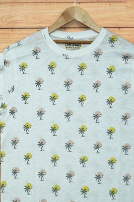 Wholesale Daily Wear Printed Cotton Mens T Shirt Collection