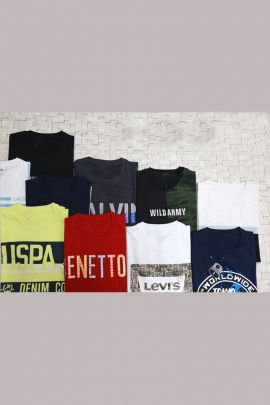 Wholesale Daily Wear Printed Cotton Mens Tshirt Collection