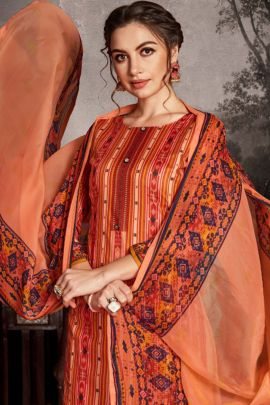 Wholesale Daily Wear Zulfat Designer Suits Cotton Printed Suit Collection
