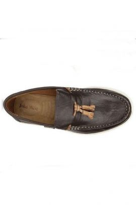 Wholesale Dark Brown Leather Stylish Mens Loafer Collection
