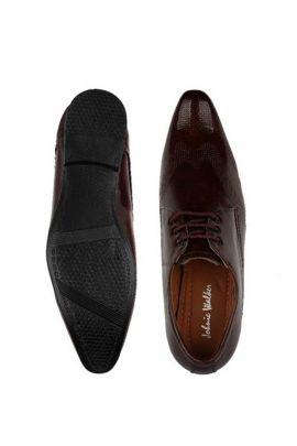 Wholesale Dark Brown Party Wear Mens Formal Shoes Collection