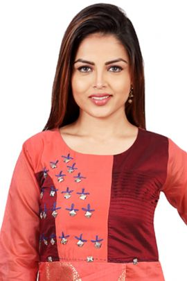 Wholesale Evening Wear Printed Stylish Barebeesaa Kurti With Inner Collection