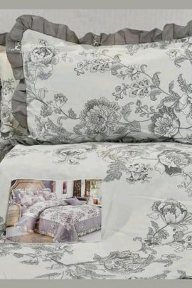 Wholesale Floral Printed Cotton Bedsheet With Pillow Cover Collection