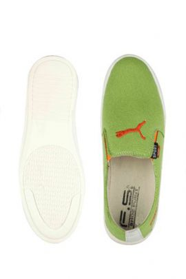 Wholesale Green Mens Green Slip On Casual Shoes Collection