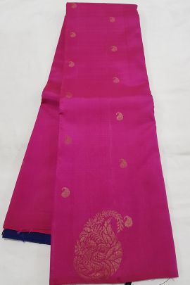 Wholesale Kanchipuram Pure Handloom Soft Silk Saree With Blouse Collection