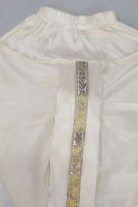 Wholesale Knitted Plain Evening Wear Ready Made Boys Kids Dhoti Collection
