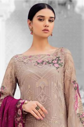 Wholesale Party Wear Pakistani Suit With Heavy Embroidery And Sequins By Volono Trendz