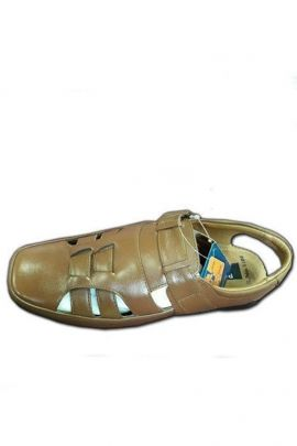 Wholesale Stylish Brown Synthetic Mens Fancy Sandal Collection