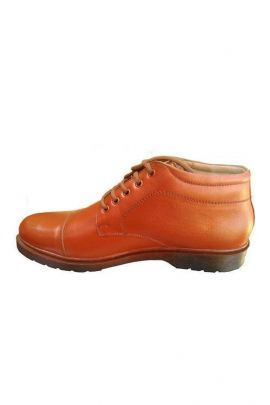 Wholesale PU Stylish Mens Brown Boot Collection