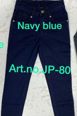 Wholesale Western Casual Wear Plain Girls Jeans Collection