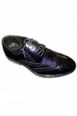 A Bunch Of Black Leather Mens Comfortable Formal Shoes Set
