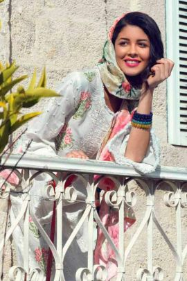 A Bunch Of Cotton Lawn Embroidered Event Wear Juvi Fashion Pakistani Suit With Dupatta Set