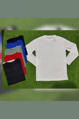 A Bunch Of Daily Wear Cotton Mens Plain Tshirts Infinity Formation Set