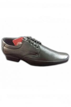 A Set Of Black Mens Executive Formal Shoes Bunch