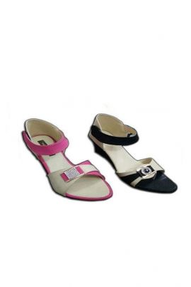 A Set Of Black PU Ladies Fancy Sandals Bunch