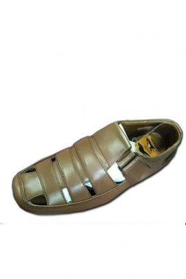 A Set Of Brown Synthetic Mens Comfortable Sandal Bunch