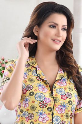 A Set Of Cotton Stylish Daily Night Wear Kavya Style Plus Night Suit Collection