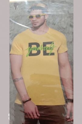 A Set Of Stylish Printed Daily Wear Mens Ready Made Tshirt Bunch