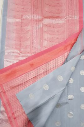 Bunch Of 9 Festive Traditional Wear Weaved Silk Saree And Blouse Piece