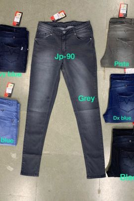 Bunch Of Casual Wear Plain Denim Kruti Garment Girls Jeans