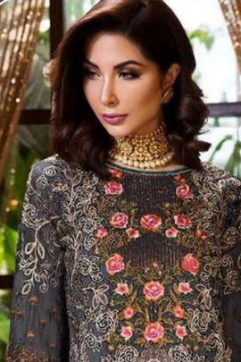 Bunch Of Party Wear Heavy Faux Georgette Embroidered Pakistani Suit By Shanaya