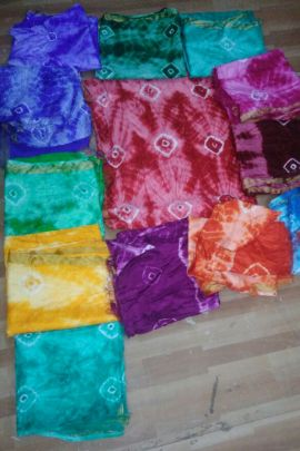 Catalog Of Bandhani Printed Silk Dupatta For Kurthis And Salwar Suits