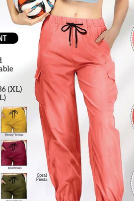 Collection Of Comfortable Multi Use Cargo Pants By Hi Fashion