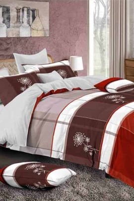 Collection Of Cotton Printed Double Bed Sheets With 2 Pillow Covers By VND