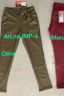 Collection Of Imported Stretchable Girls Jeggings By Kruti Garment