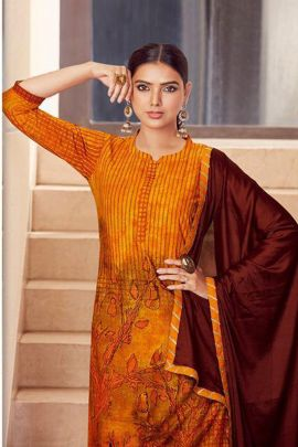 Collection Of Printed Rayon Indo Western Suit With Gota Lace By Helix Enterprise