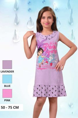 Light-Purple-Dora-Print-Little-Girls-Cotton-Nightwear-In-Wholesale-3560-6705.jpg