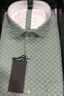 Mens Printed Office Daily Wear Cotton Shirts At Factory Rates