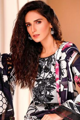 Pack Of 8 Pakistani Style Embroided Cotton Deepsy Suits Set