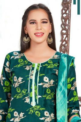 Pack Of Daily Wear Rayon Printed Trendy Salwar Suit With Dupatta Bunch