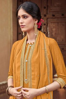 Pack Of Event Wear Embroidered Cotton Silk Bela Fashion Salwar Suit Bunch