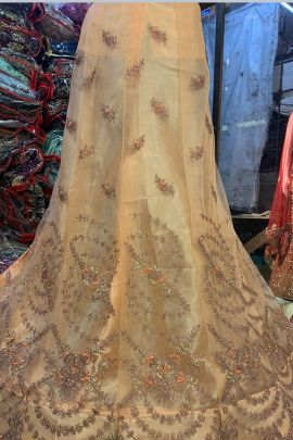 Pack Of Wedding Wear Embroidered Silk Kapoor Lehenga Choli  Bunch