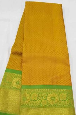 Pack Of Wedding Wear Silk Weaved R Yuvaraj Saree With Blouse Piece