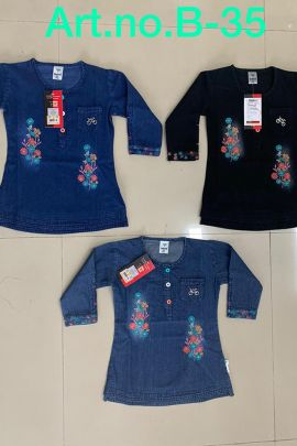 Pack Of Western Casual Wear Girls Tops At Bulk Rates