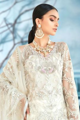 Set Of Festival Wear Net Pakistani Suit With Embroidery Work By Volono Trendz