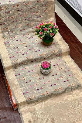 Wholesale Banarasi Silk Weaved Dupatta Collection