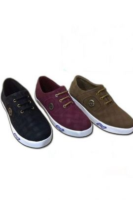 Wholesale Brown Mens Canvas Casual Shoes Collection
