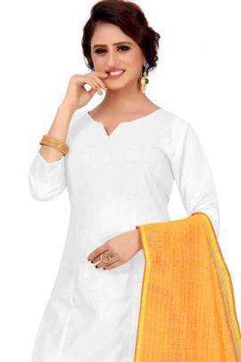 Wholesale Casual Wear Cotton Silk Plain Dupatta Collection
