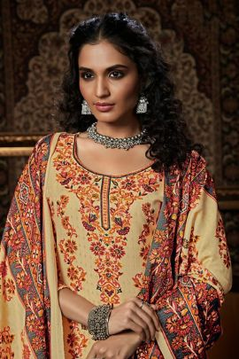 Wholesale Casual Wear Printed Pashmina Belliza Designer Studio Salwar Suit Catalog