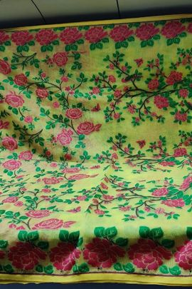 Wholesale Party Wear Weaved Jamdani Cotton SNT Saree Collection