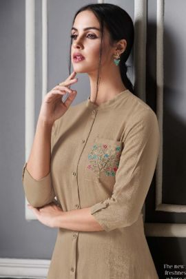 Wholesale College Wear Embroidery Rayon Tunics With Pant Set