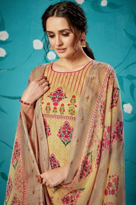 Wholesale Cotton Fancy Printed Event Wear Dress With Dupatta Collection