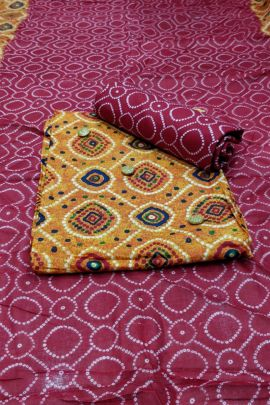 Wholesale Cotton Printed Event Wear Veefab Dress Material With Dupatta Collection