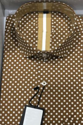 Wholesale Daily Office Wear Printed Cotton Shirts Collection
