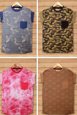 Wholesale Daily Stylish Wear Printed Cotton Mens T Shirt Collection