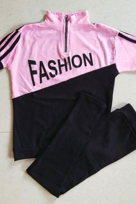 Wholesale Daily Wear Cotton Printed Desney Fashion Women Tracksuits Set